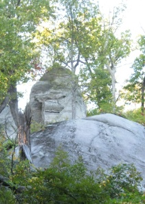 Currahee Mtn Rock Face