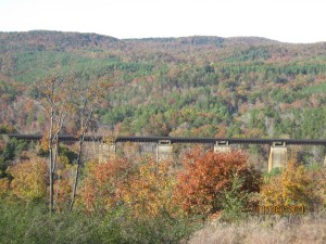 TRAIN TRESTLE PHOTO  JPG