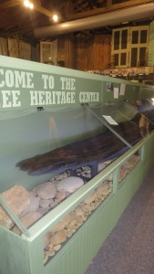 Dugout Canoe at Oconee Heritage Center