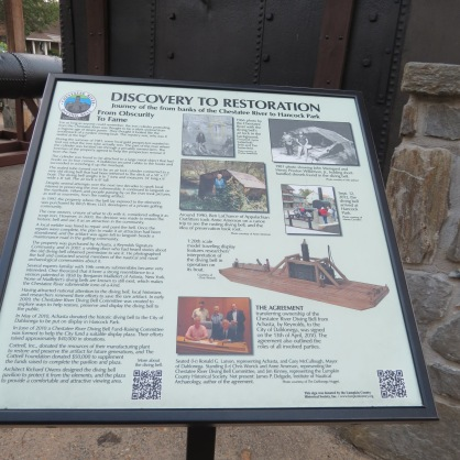 History of the Restoration of the Diving Bell